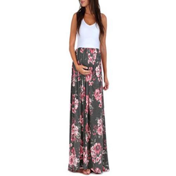 5439456728 Maxi Maternity Dress. M 5c814df6c9bf50ec2745c558